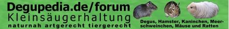 Faszination Kleinsäuger Degupedia.de
